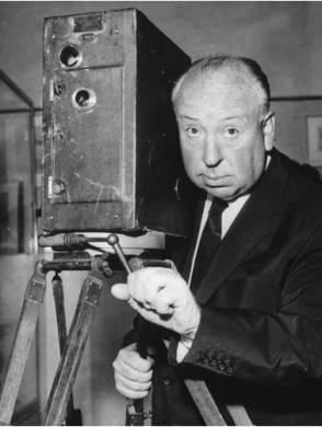 Alfred Hitchcock - Behind the Scenes photos