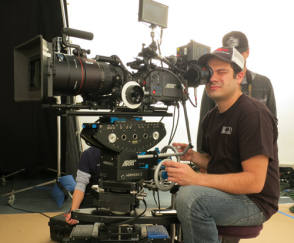 Camera operator Pedro Guimaraes, SOC - Behind the Scenes photos
