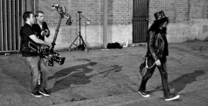 Slash - Behind the Scenes photos