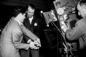 James Stewart in Rope - Behind the Scenes photos