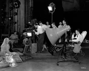 On the Set of Citizen Kane - Behind the Scenes photos