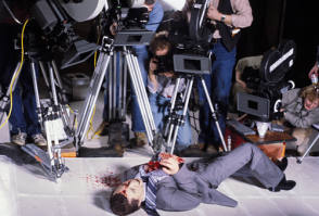 Panavision on Videodrome - Behind the Scenes photos