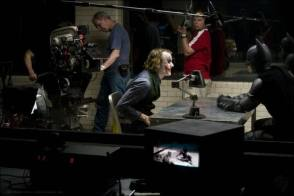 Heath Ledger as the Joker - Behind the Scenes photos