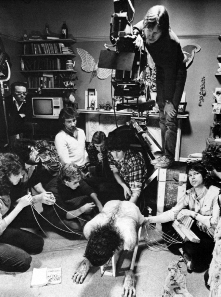 Puppetry in An American Werewolf in London (1981) Behind the Scenes