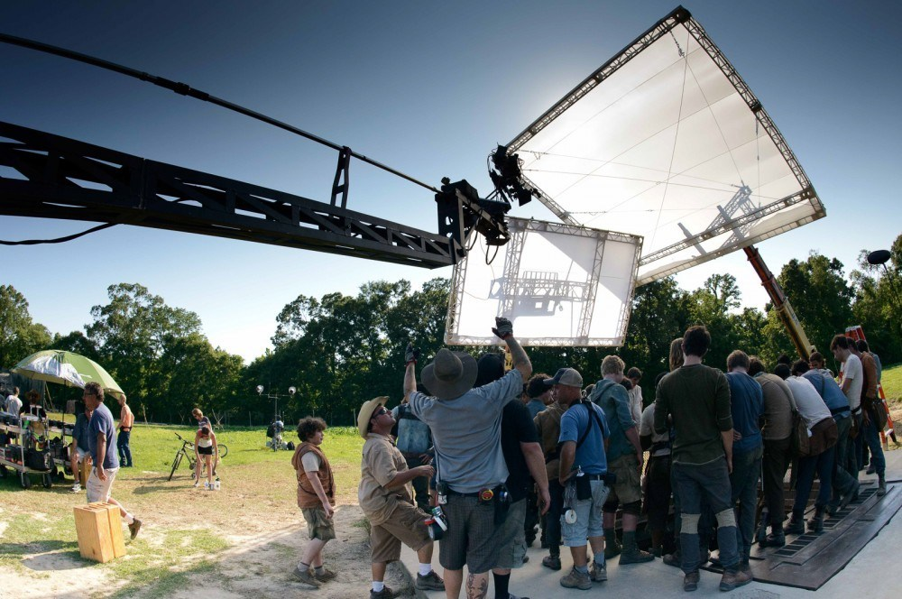 The Maze Runner Behind the Scenes Photos & Tech Specs