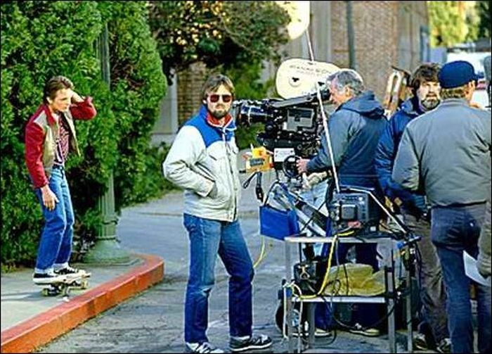 Michael J. Fox and Robert Zemeckis Behind the Scenes