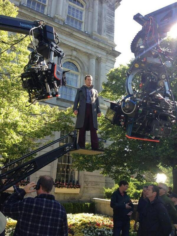 Michael Fassbender as Magneto Behind the Scenes