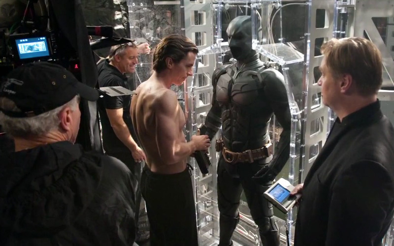 The Dark Knight Rises Behind the Scenes Photos & Tech Specs