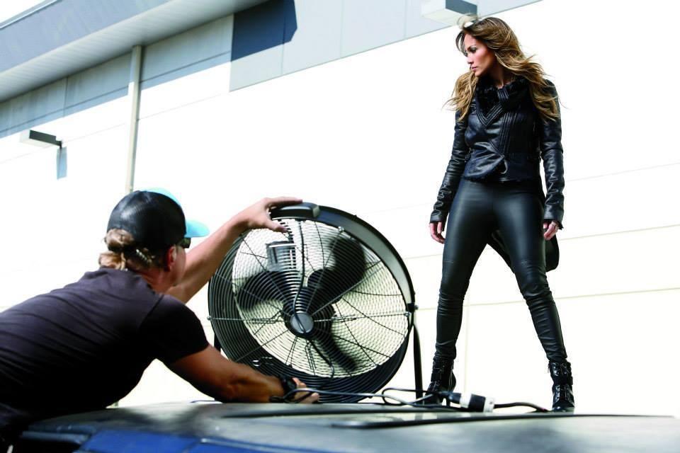 Jennifer Lopez Behind the Scenes : Kohls Commercial Behind the Scenes