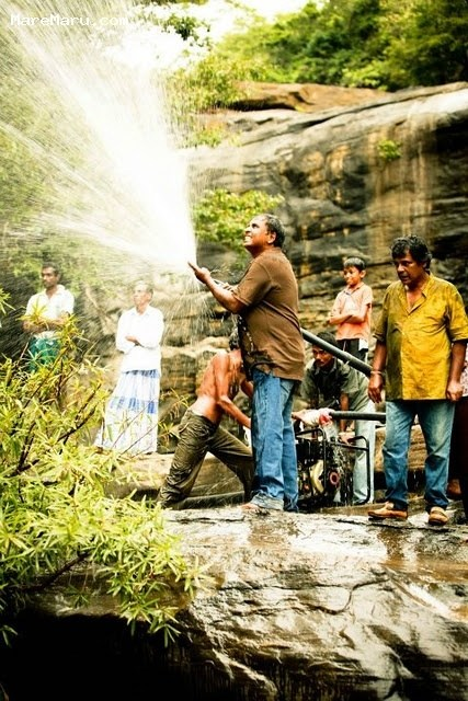 A Rain Making Scene : Kusa Paba (2012) Behind the Scenes