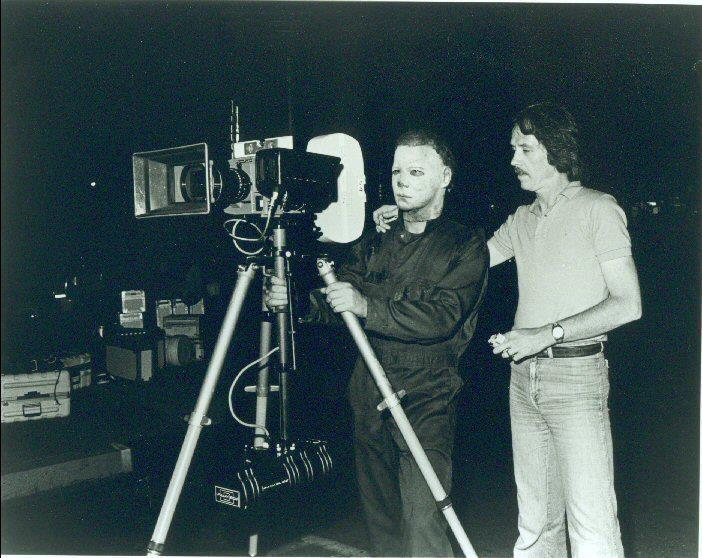 Dick Warlock As Michael Myers Behind the Scenes