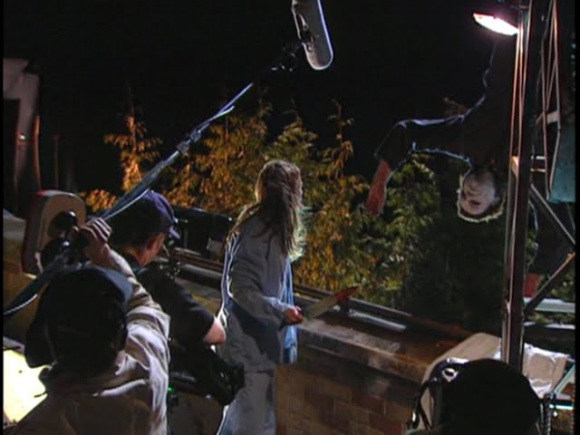 From the Film Halloween: Resurrection (2002) Behind the Scenes