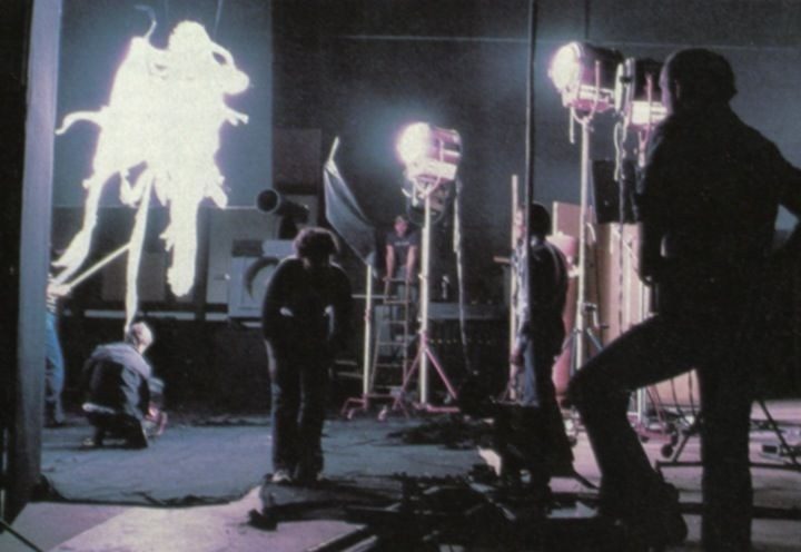 Poltergeist Behind the Scenes Photos & Tech Specs
