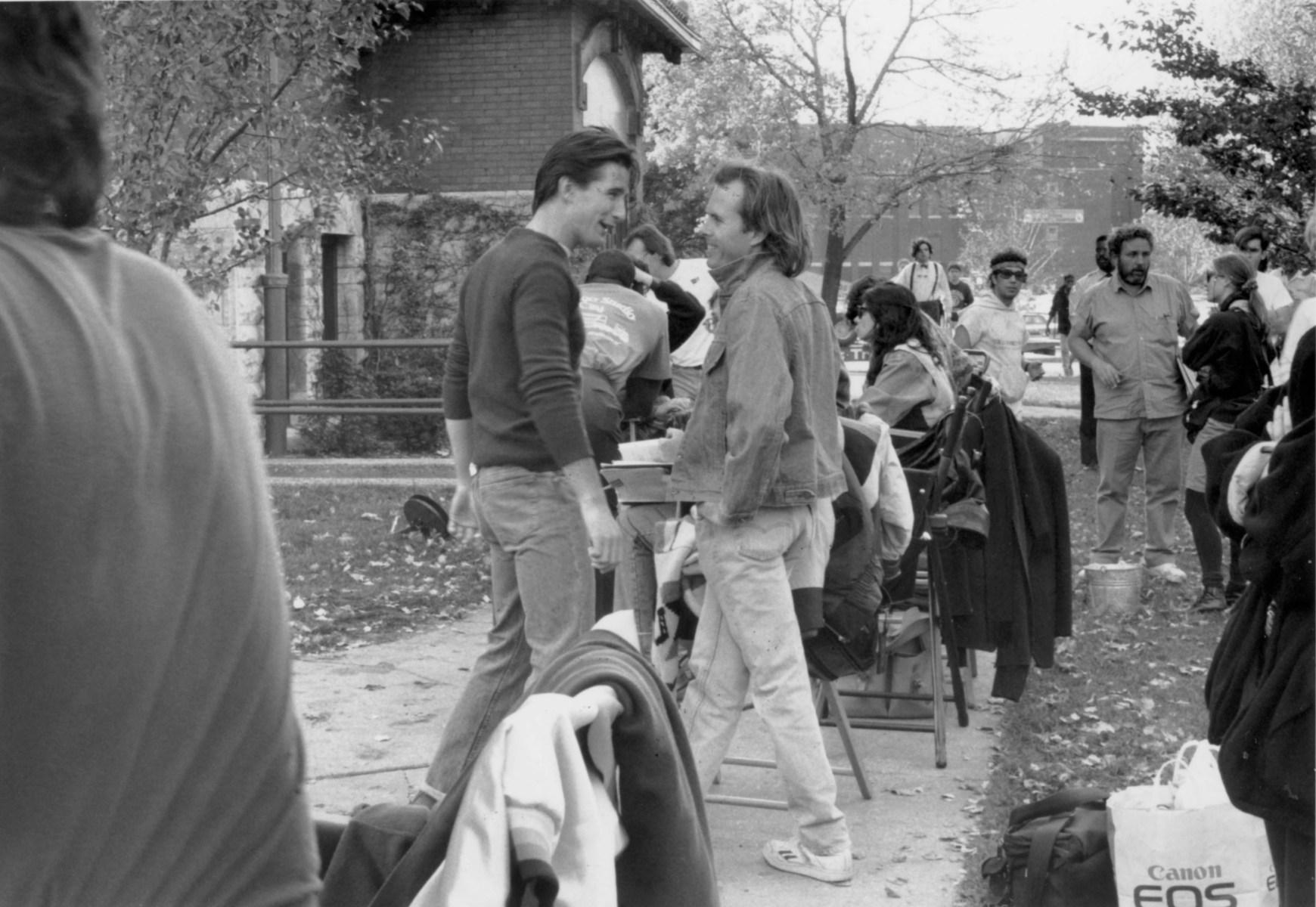 Actor William Baldwin and Writer Peter Filardi Behind the Scenes