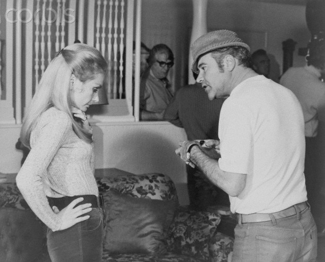 Jack Lemmon and Felicia Farr : Kotch (1971) Behind the Scenes