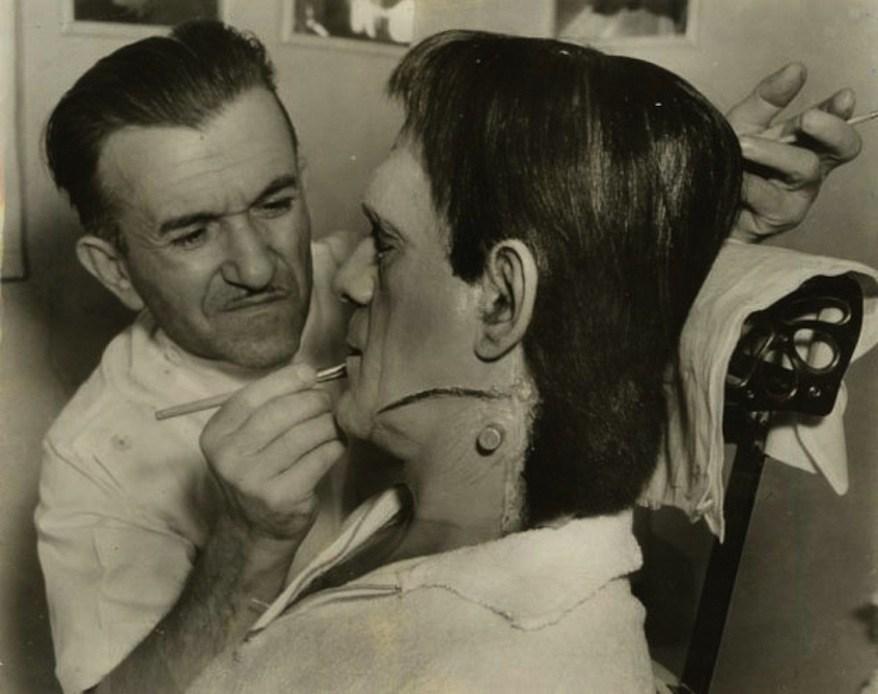 A Still From The Movie Frankenstein (1931) Behind the Scenes