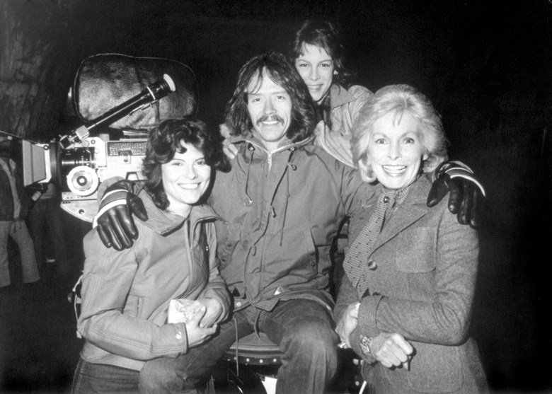 Taking A Break During Filming The Fog (1980) Behind the Scenes
