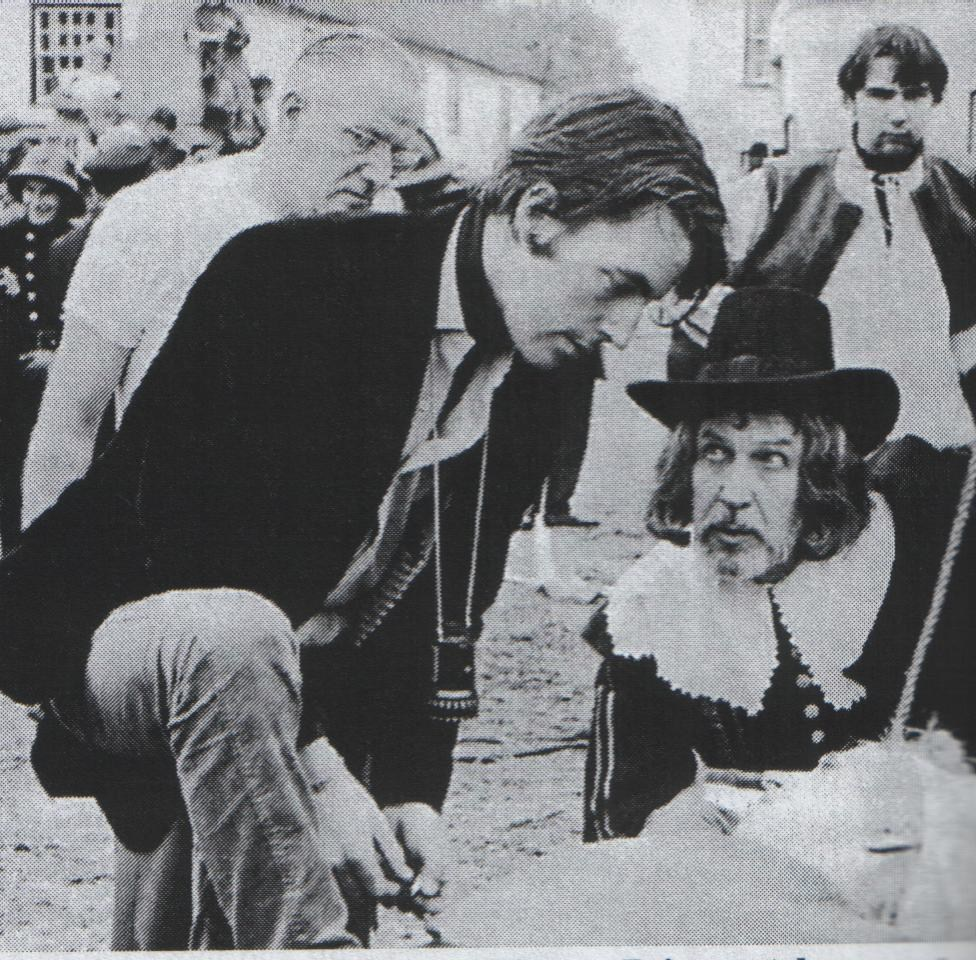 From The Film Witchfinder General (1968) Behind the Scenes