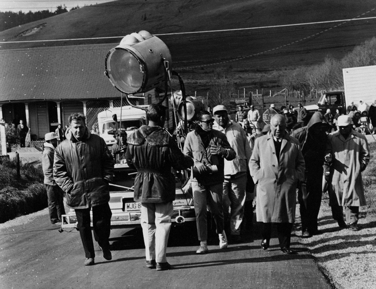 On Location : The Birds (1963) Behind the Scenes