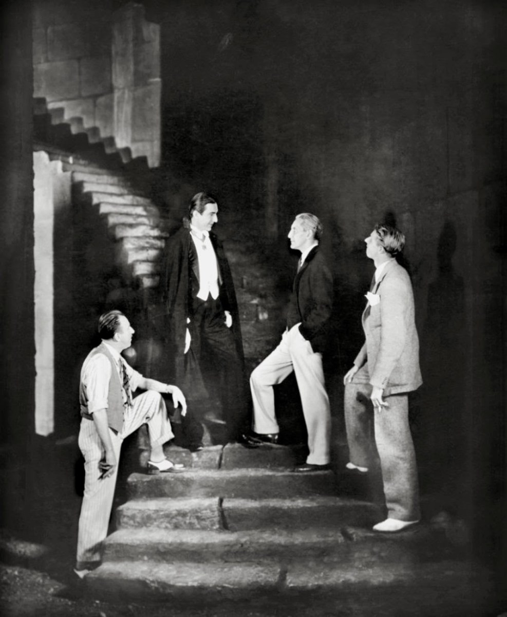 A Still From The Film Dracula (1931) Behind the Scenes