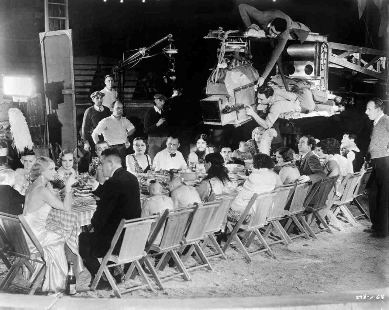 On the set of Freaks (1932) Behind the Scenes