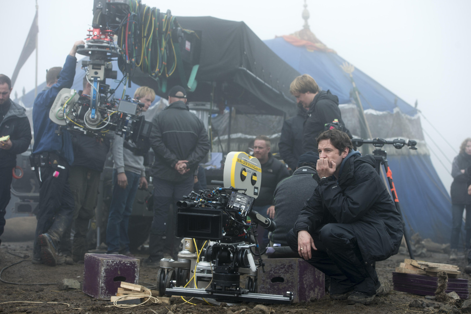 Dracula Untold Behind the Scenes Photos & Tech Specs