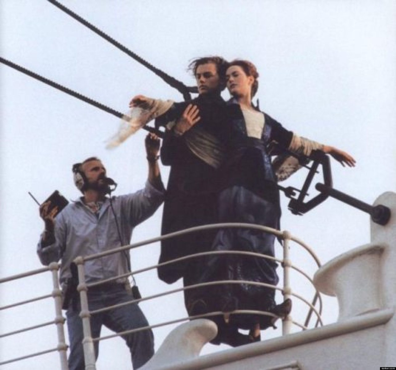 From The Film Titanic (1997) Behind the Scenes