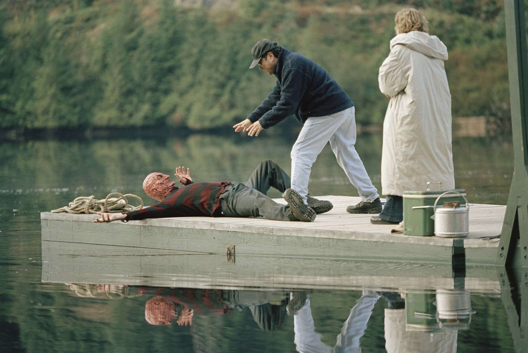 Freddy vs. Jason Behind the Scenes Photos & Tech Specs