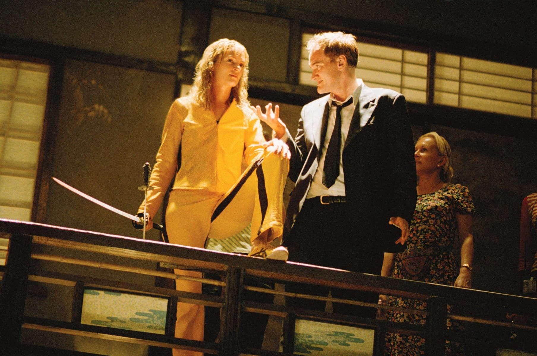 Kill Bill: Vol. 1 Behind the Scenes Photos & Tech Specs