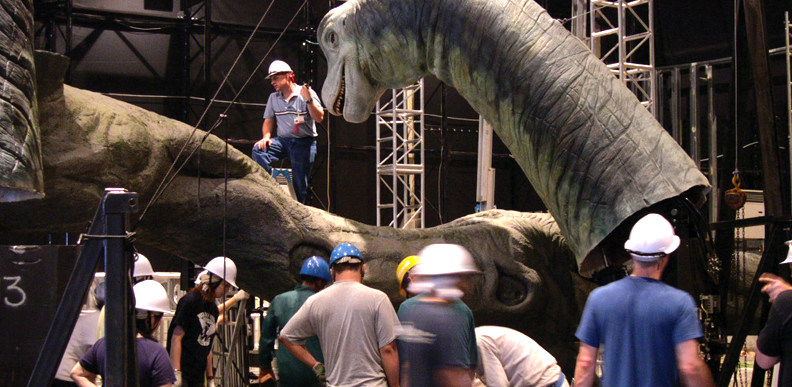On The Set Of Jurassic Park (1993) Behind the Scenes