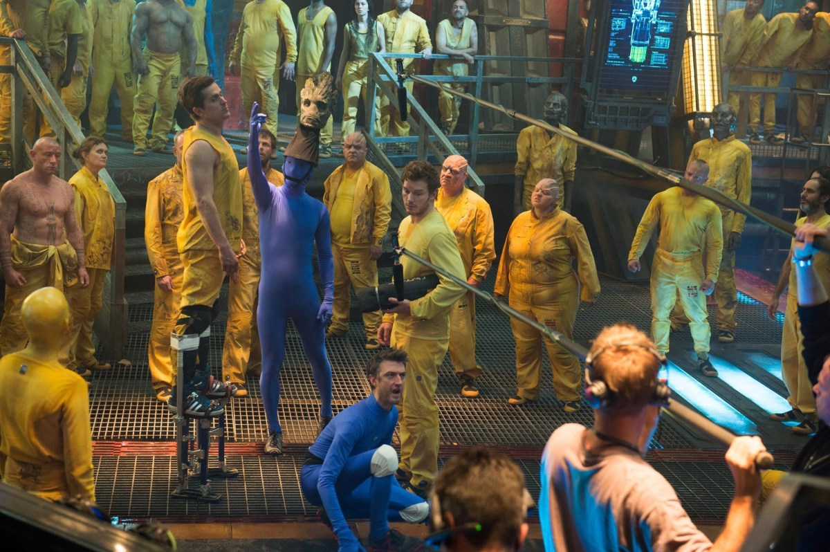 Guardians of the Galaxy Behind the Scenes Photos & Tech Specs