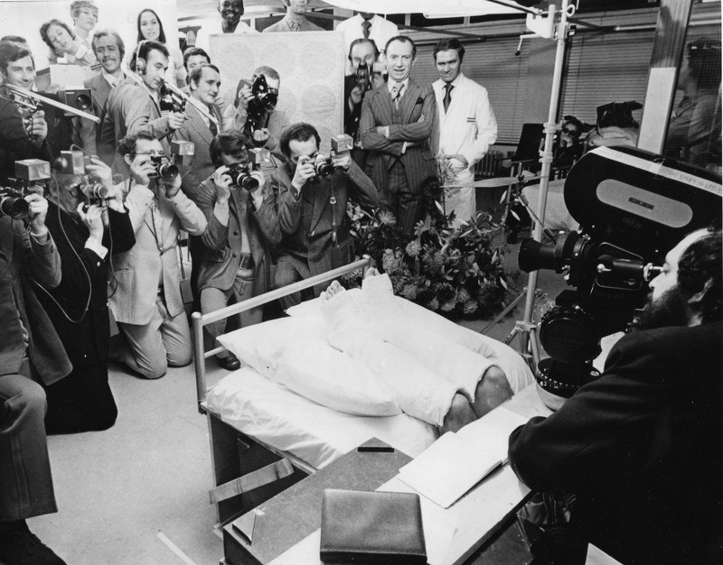 Stanley Kubrick Filming : A Clockwork Orange (1971) Behind the Scenes