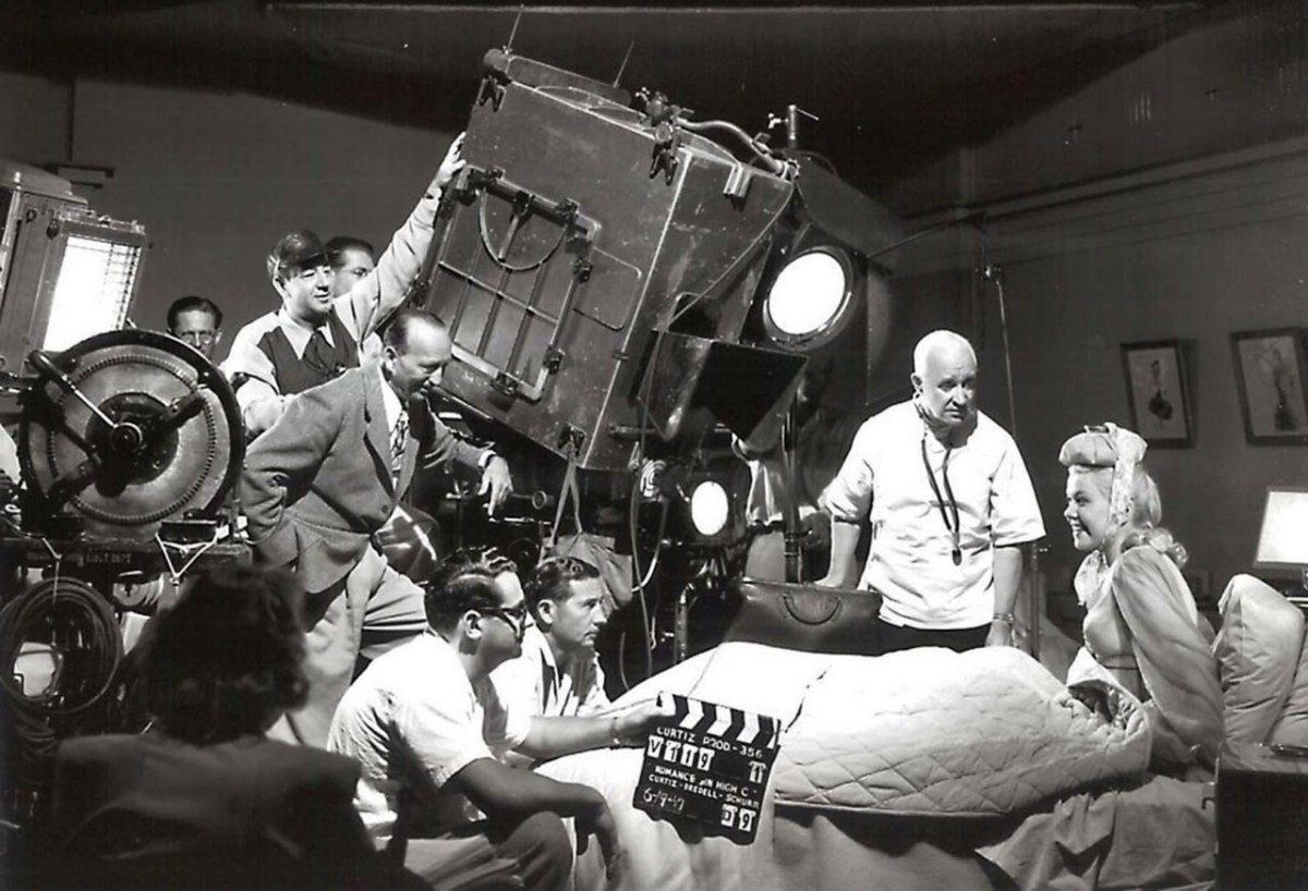 Fritz Lang On The Set Of Metropolis (1927) Behind the Scenes