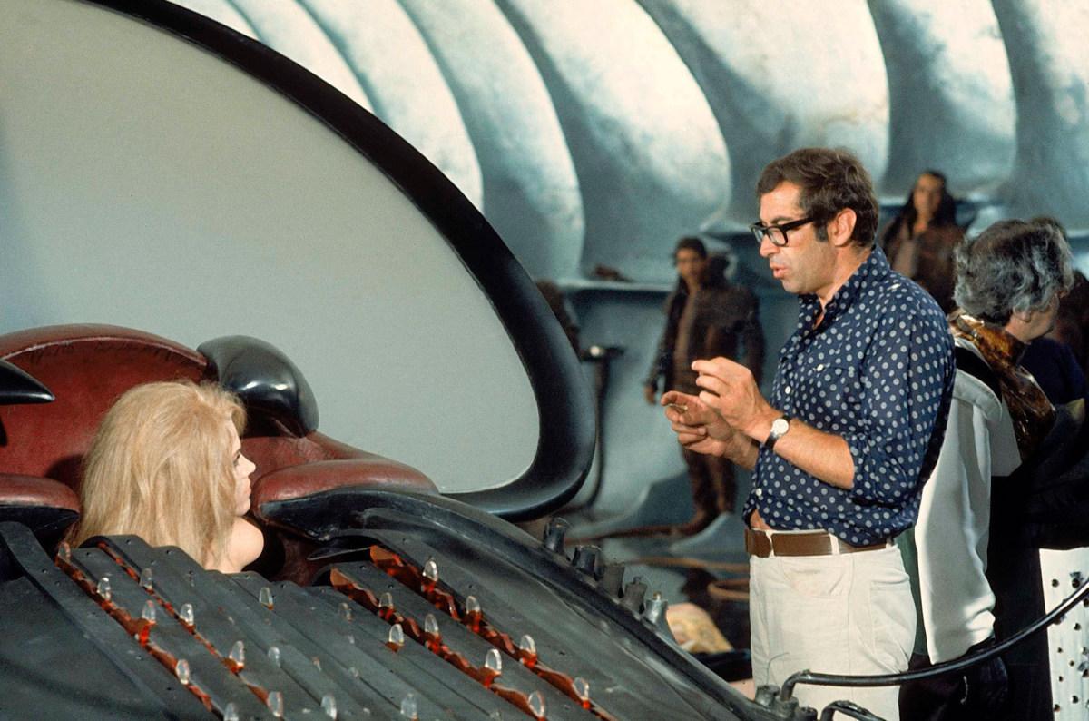 Jane Fonda as Barbarella Behind the Scenes