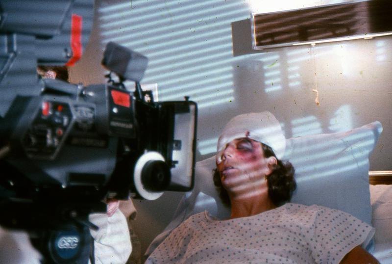 Actor Kevin Van Hentenryck as Duane Bradley (1982) Behind the Scenes