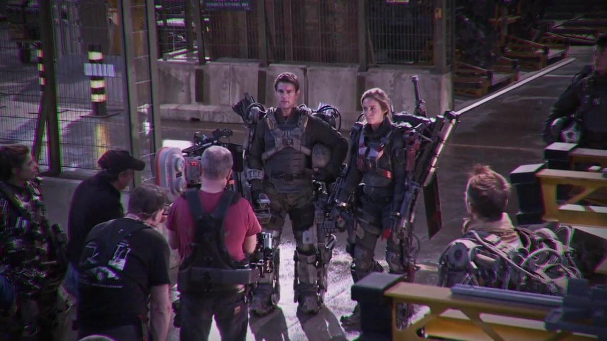 Edge of Tomorrow Behind the Scenes Photos & Tech Specs