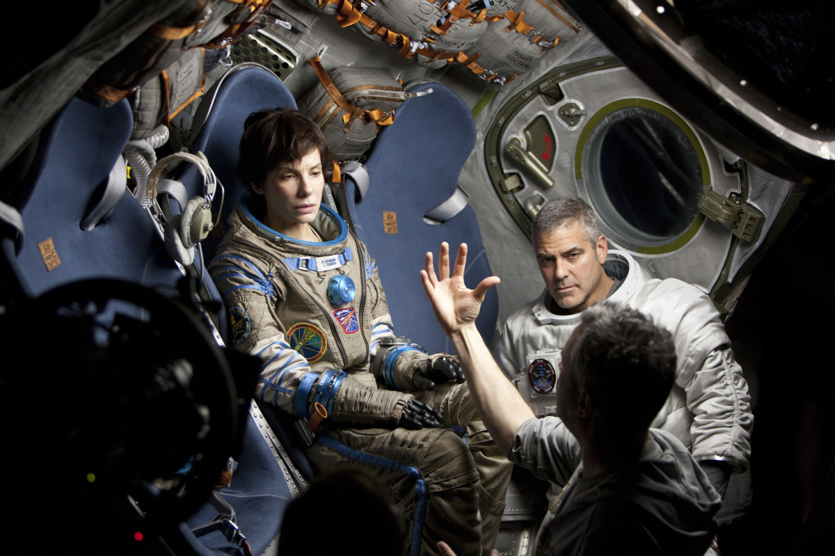 Gravity Behind the Scenes Photos & Tech Specs