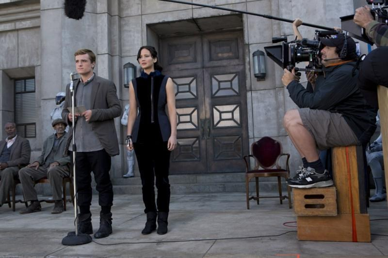 Shooting The Hunger Games: Catching Fire (2013) Behind the Scenes
