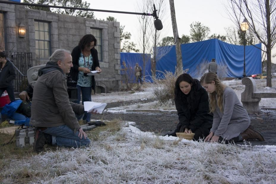 The Hunger Games: Catching Fire Behind the Scenes Photos & Tech Specs