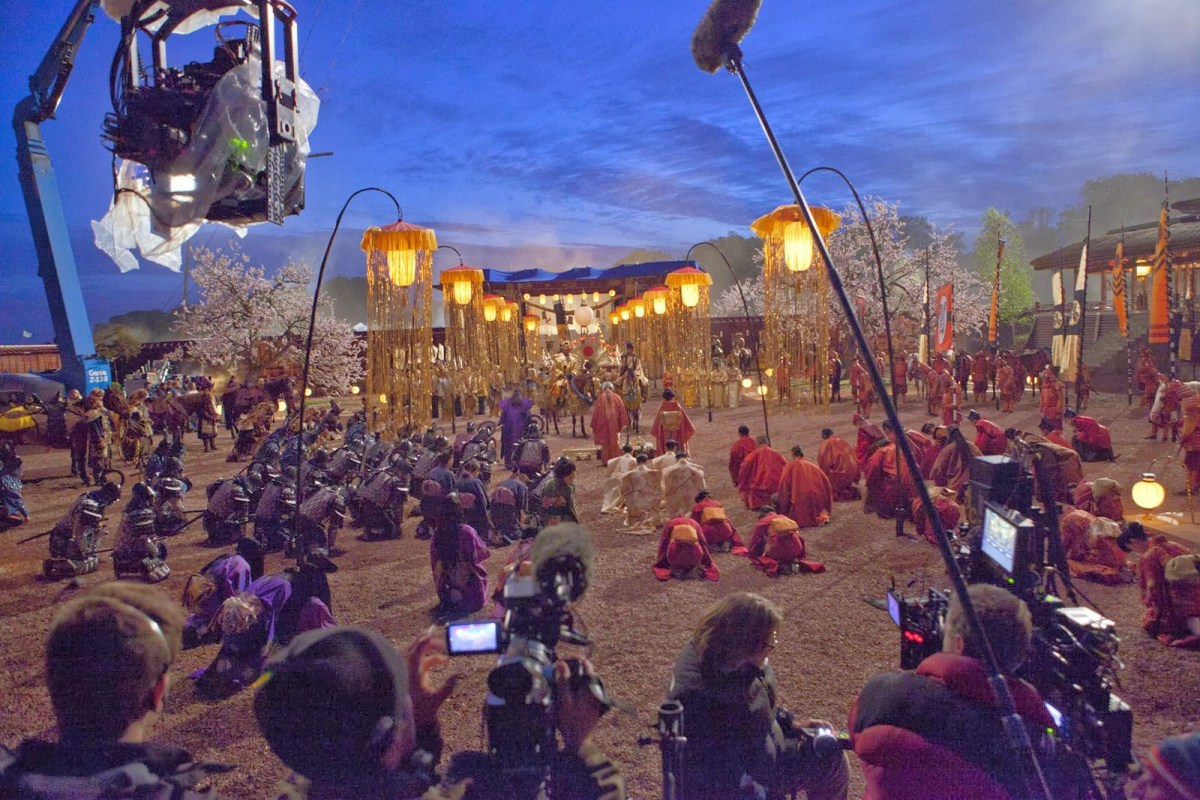47 Ronin Behind the Scenes Photos & Tech Specs