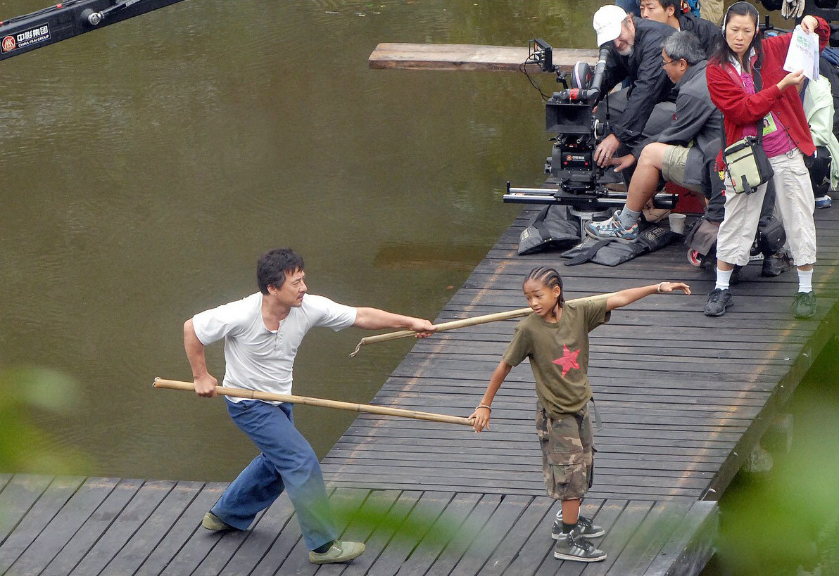 The Karate Kid Behind the Scenes Photos & Tech Specs