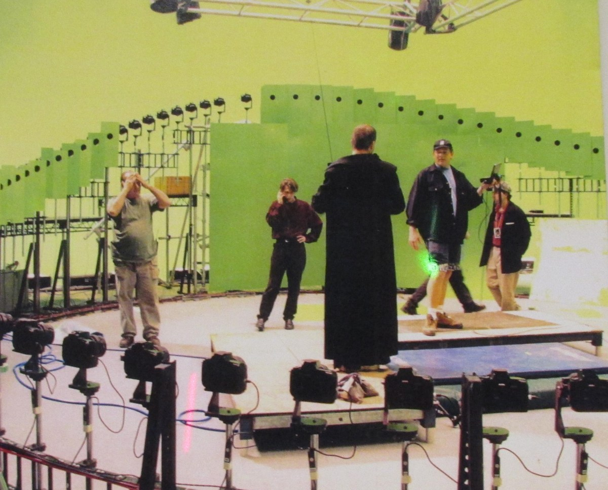 Bullet Time Rig : The Matrix (1999) Behind the Scenes