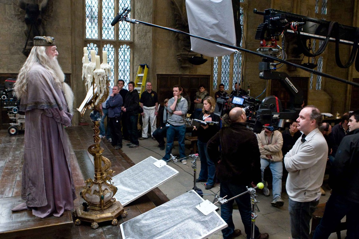 Harry Potter and the Half-Blood Prince Behind the Scenes Photos & Tech Specs