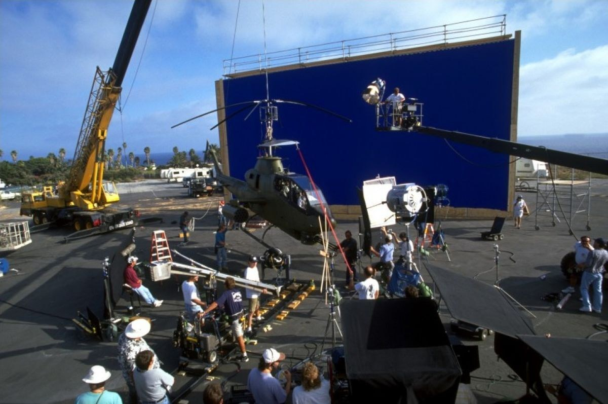 Con Air Behind the Scenes Photos & Tech Specs