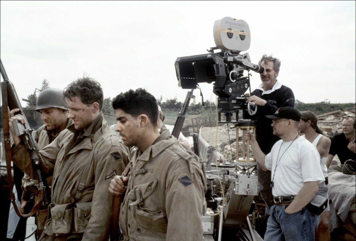 Saving Private Ryan Behind the Scenes Photos & Tech Specs