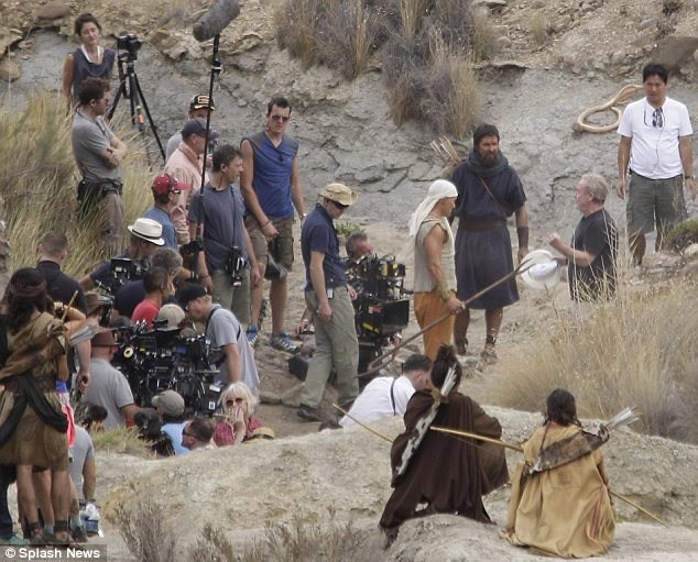 Exodus: Gods and Kings Behind the Scenes Photos & Tech Specs