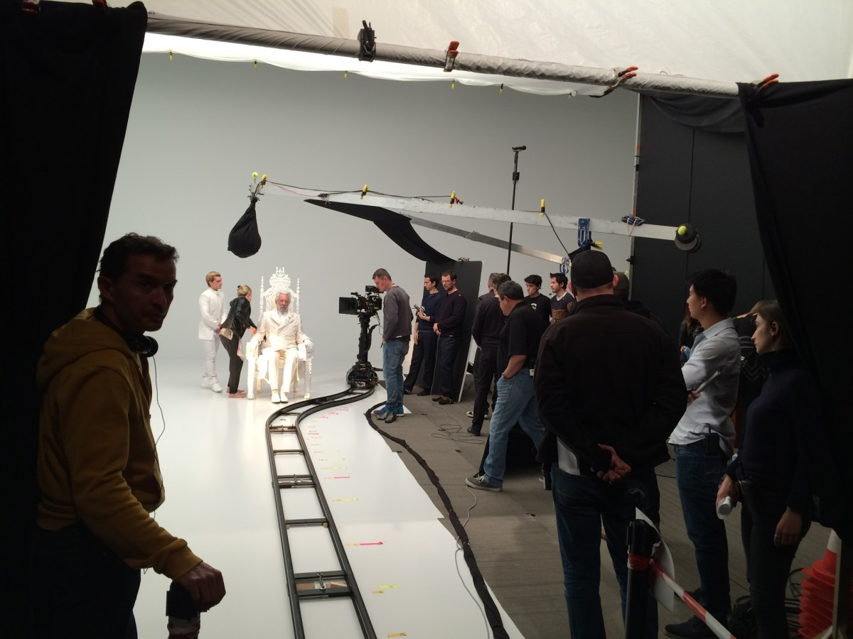 The Hunger Games: Mockingjay – Part 1 Behind the Scenes Photos & Tech Specs
