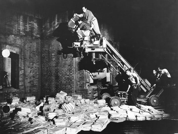 Citizen Kane Behind the Scenes Photos & Tech Specs