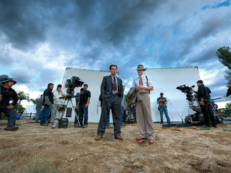 Gangster Squad Behind the Scenes Photos & Tech Specs