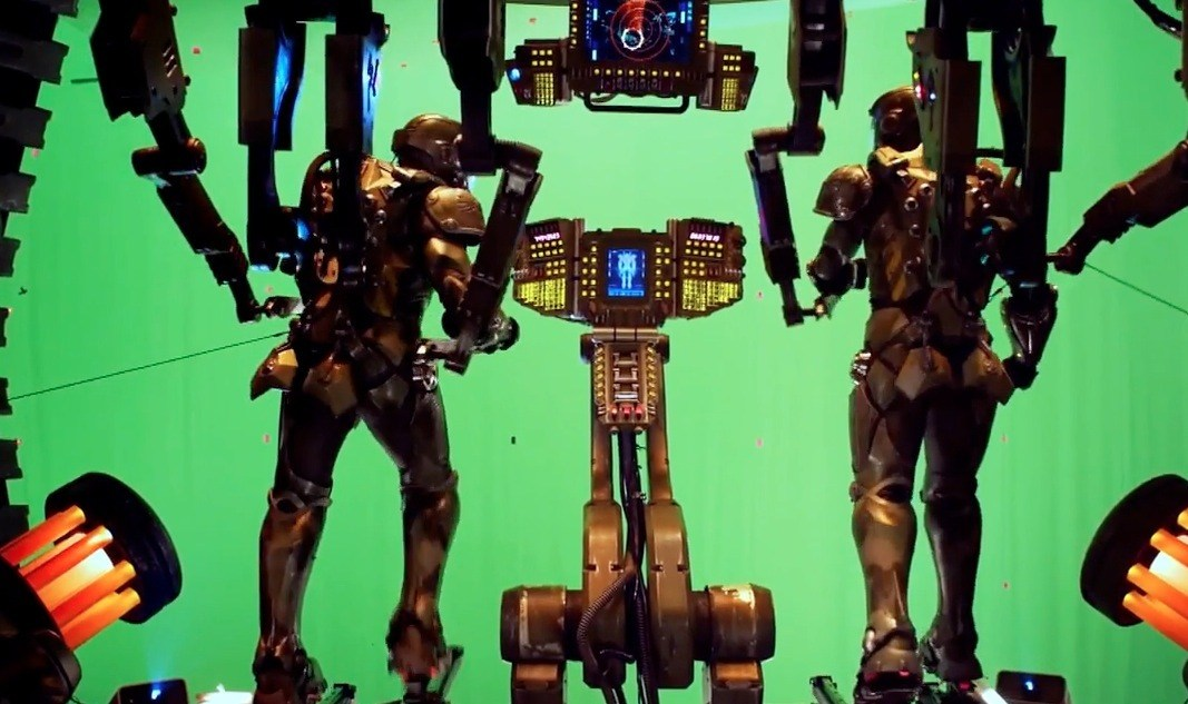 Pacific Rim Behind the Scenes Photos & Tech Specs
